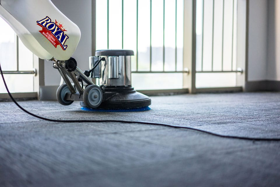 commercial floor cleaning